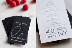 Beautiful and Elegant Branding for Lulu Cake Boutique