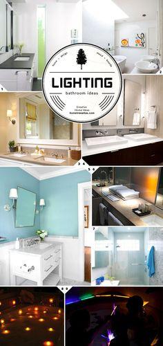 Bathroom Lighting Ideas: A Well Designed Space - 203kRehabNow.com for 203k Renovation Loans, FHA loans & refinancing nationwide.