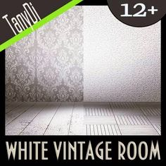 White Vintage Room - Urban Stage | GraphicRiver | Creative Graphic Resources
