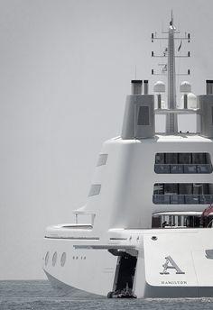 A - Russian billionaire, Andrey Melnichenko's 314 million yacht
