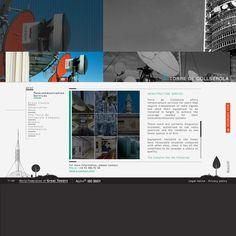 CORPORATE SITE DEVELOPMENT: Creativity, web design, programming, flash-animation.  DESARROLLO WEB CORPORATIVA: Creatividad, diseño-web, programación, animación-flash. La TORRE DE COLLSEROLA (Barcelona, España) - la torre de televisión erigida para las Olimpiadas de 1992, diseñada por el famoso arquitecto Norman Foster.  CLIENT/CLIENTE: TORRE DE COLLSEROLA (COMMUNICATION TOWER OF BARCELONA)
