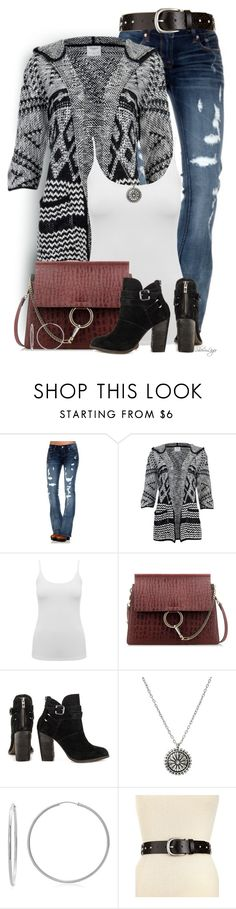 """""""Untitled #2315"""" by sherri-leger ❤ liked on Polyvore featuring Cult of Individuality, Vero Moda, M&Co, Chloé, Chinese Laundry, Sterling Essentials and Style & Co."""