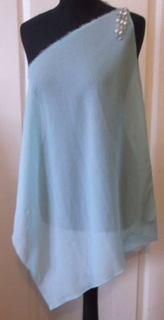 New ZARA Gorean Kajira Light Blue Tunic & Sandal by WhataPleasure