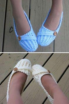 Anne Lee Slippers - Crochet Pattern   Beautiful Skills - Crochet Knitting Quilting   Bloglovin'