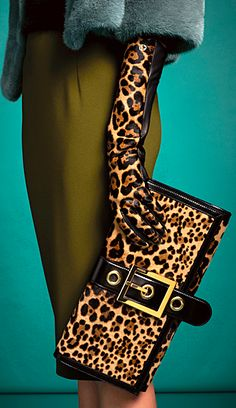 There is a wallet and glove that is made of cheetah fur. These are created for woman's beauty. Is it right to do?