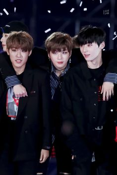 Wanna-One - Daniel, Minhyun, Woojin