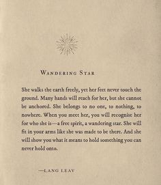 I have never come across a collection of words more apt than this. Star Quotes, Poem Quotes, Life Quotes, Star Poems, Pretty Words, Beautiful Words, Lang Leav Quotes, Favorite Quotes, Best Quotes