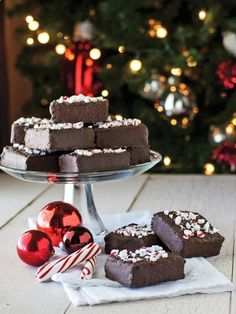 #holiday recipe Chocolate-Covered Peppermint Crispies>> www.hgtv.com/...