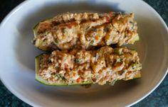 Taste of my day: Warzywa z farszem z kaszy, fety i warzyw