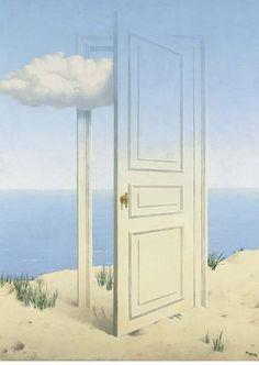 """""""La victoire"""" (1939) by René Magritte"""