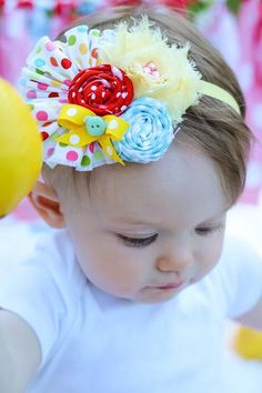Baby Girl Headbands Baby Girl Hair Bow by LittlePearlBoutique, $15.00