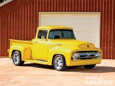 Yellow pickup