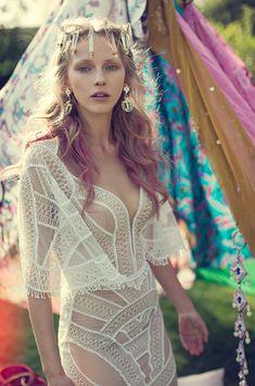 Gypsy Soul: Meital Zano Hareli bridal collection | www.onefabday.com