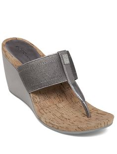 We need this @bcbgeneration T-strap wedge sandal in our shoe collection! With its comfy cork footbed, sophisticated silhouette & metallic detailing its the perfect sandal to keep you stylish all season long.