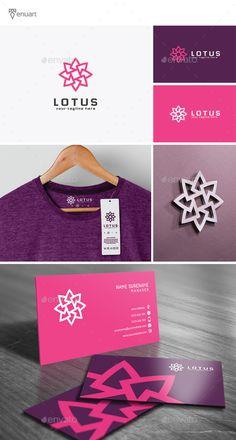 Lotus - Logo Design Template Vector #logotype Download it here: http://graphicriver.net/item/lotus-logo/12186873?s_rank=624?ref=nesto