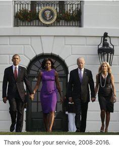 President Barack Obama, First Lady Michelle Obama, Vice President Joe Biden and Dr. Joe Biden, Obama And Biden, Black Presidents, American Presidents, Durham, Barak And Michelle Obama, Divas, Afro, Presidente Obama