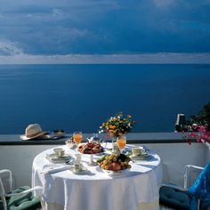 Breakfast at Positano. A great way to begin your day.