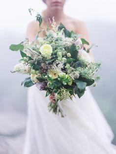 Foggy mountain wedding inspiration by Wedding Nature Photography