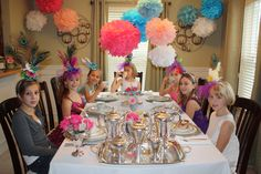 Tea party for girls Birthday