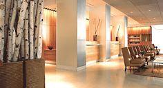 The James Chicago. Sleek interior design