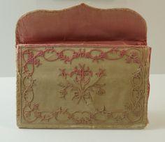Antique Silk Purse Pocketbook Letter Case 18th Century Georgian