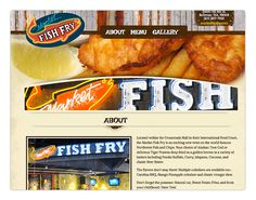 Market Fish Fry Website design by Creative Media Alliance