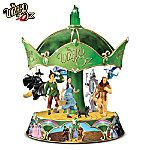 The Wizard Of Oz Heirloom Porcelain Carousel Music Box by The Bradford Exchange sale ! Wizard Of Oz Musical, Wizard Of Oz Quotes, Disney Music Box, Wizard Of Oz Collectibles, Land Of Oz, Broadway, The Worst Witch, Bradford Exchange, Yellow Brick Road