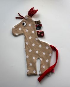 Schnuller-/Schmusetuch Melman die Giraffe