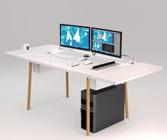 A designed table