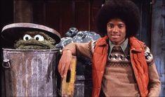 Michael Jackson and Oscar the Grouch - Retronaut