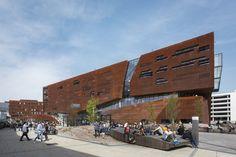 Teaching Center | Vienna, Austria | design by Busarchitektur | photo by Dirk Verwoerd #GIRA