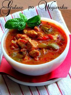 Kitchen Recipes, Soup Recipes, Cooking Recipes, Healthy Recipes, New Recipes, Good Food, Yummy Food, Dinner Dishes, Tasty Dishes