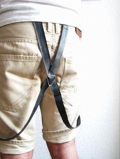 2. Hosenträger - Hosenträger aus Fahrradschlauch - ein Designerstück von tubnub bei DaWanda