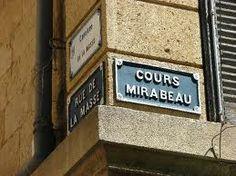 Cours Mirabeau ~ Aix-en-Provence.