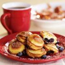 Blueberry-Filled Pancakes Recipe from williams-sonoma.com