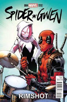 Spider-Gwen (II) #4, Deadpool Variant