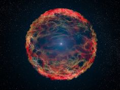 Space facts: Scientists discovered a star inside what was once a supernova, caused by the collision of 2 other stars.