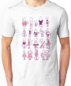 a bunch of birds Unisex T-Shirt