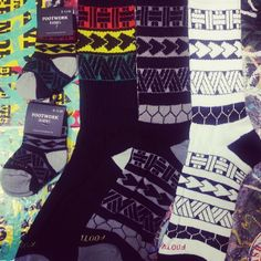 .@Getn It In | #island #tribal #socks by #footwork for all my #islanders #usos out there ava... | Webstagram