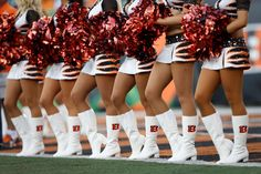 Cincinnati Bengals Cheerleaders: Learn more about the Ben-Gals Cheerleaders American Sports, American Football, Bengals Cheerleaders, Paul Brown Stadium, Professional Cheerleaders, Cheerleading Pictures, Football Conference, School Uniform Girls, Cincinnati Bengals
