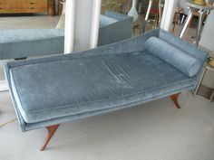 Mid Century Modern Chaise Lounge image 9