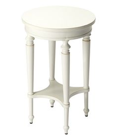Look what I found on #zulily! White Two-Tier Accent Table #zulilyfinds