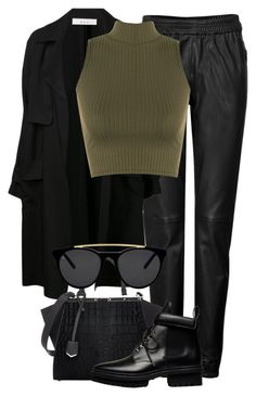 """""""Untitled #2202"""" by rosyfilm ❤ liked on Polyvore featuring Jitrois, A.L.C., WearAll, Fendi, Balenciaga and Smoke & Mirrors"""