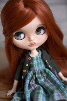 Margo OOAK TBL Blythe doll
