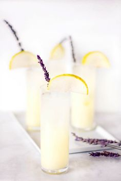 Vodka Pear Lavender Lemonade
