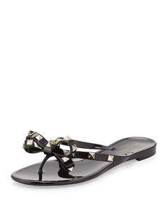 7089d88e7645b Rockstud PVC Thong Sandal