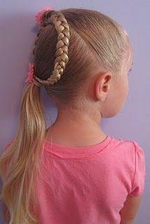 How to do little girl hair