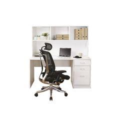 Officeworks has a wide range of corner desks and hutch tables to suit all budgets. Desk Hutch, Office Desk, Corner Desk, Boston, Interior Design, Room, Furniture, Home Decor, Corner Table