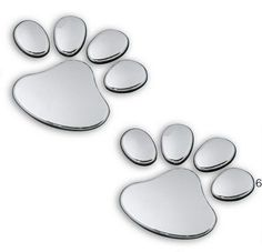Eyourlife 3D Chrome Dog Paw Footprint Sticker Decal Auto Car Emblem Decal Decoration Color Silver Eyourlife http://www.amazon.com/dp/B00ECTRBHA/ref=cm_sw_r_pi_dp_nEUWtb140S2WR5VX