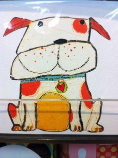 Cinnamon Joe Dog Illustration